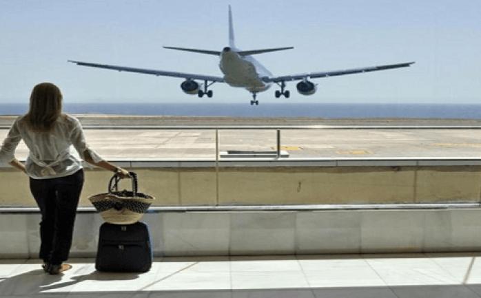 حلم السفر بالطائرة