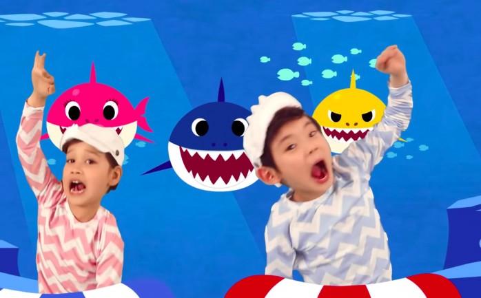 Baby Shark الأغنية الأكثر مشاهدة في تاريخ يوتيوب الوطنية للإعلام
